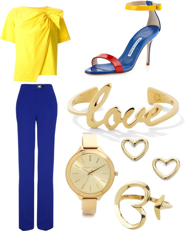 Colorblocking for Spring